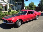 Picture 1969 Ford Mustang Mach 1