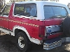 Picture 1985 ford bronco 4x4 xlt, may suit off road,...