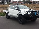 Picture 2010 sr5 upgrade hilux turbo diesel loaded up...
